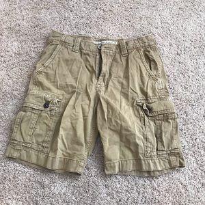 American eagle classic length cargo shorts